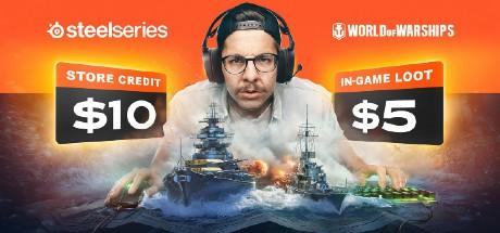 World of Warships Free Loot Shipment plus $10 Credits
