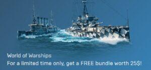 World of Warships Starter Pack (Epic Store)