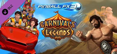 Pinball FX3 - (Steam) Carnivals and Legends DLC Key