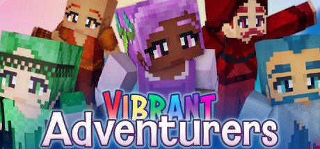 Minecraft: Vibrant Adventurers Volume 1, 2 and 3
